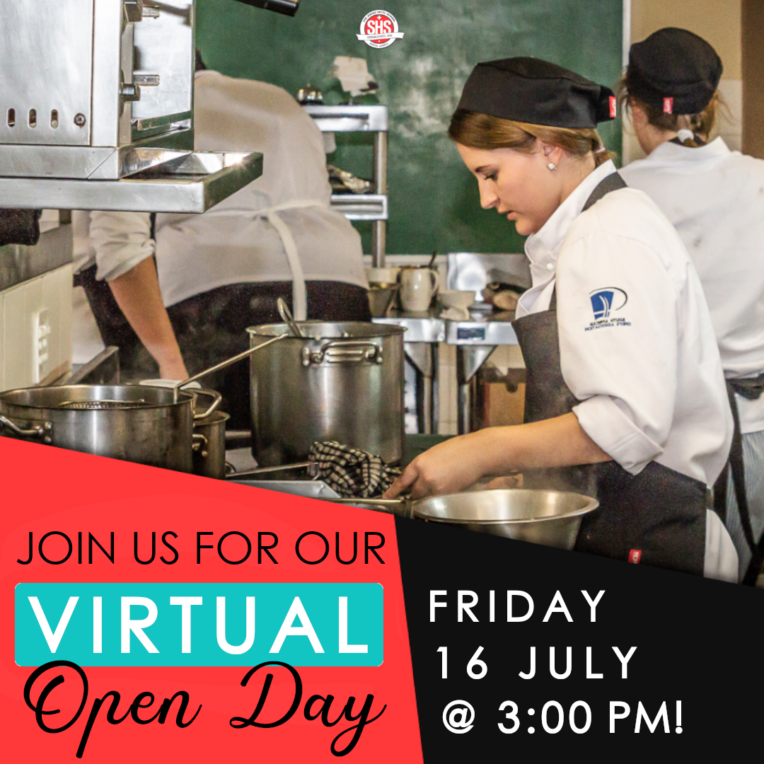 WEDNESDAY 14 JULY VIRTUAL OPEN DAY
